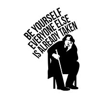 Oscar Wilde - Quote Series. by xdangerline