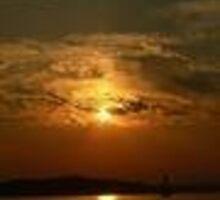 alki at sunset by jodithkay