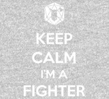 Keep Calm I'm a Fighter Kids Tee