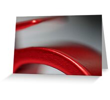 Abstract Opener Greeting Card