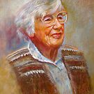 Portrait of Isobel by Lynda Robinson