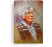 Portrait of Isobel Canvas Print