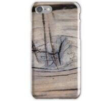 Wood scratches - texture iPhone Case/Skin