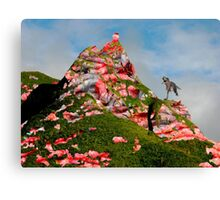 Meat Mountain Canvas Print