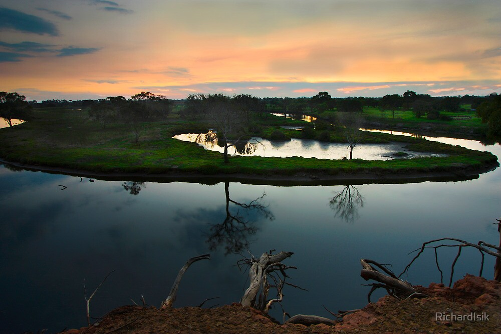 Werribee River by RichardIsik