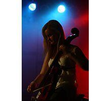 Celloist, Lumiere. Photographic Print