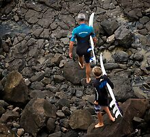 Surf Generations by Natsky