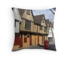 St Nicholas Street, Ipswich Throw Pillow