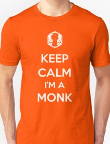 Keep Calm I'm a Monk T-Shirt