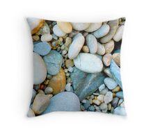 Beach Rocks 12 Throw Pillow