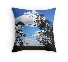 View over the Valley. Regional NSW Throw Pillow