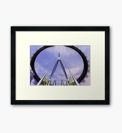 London Eye II Framed Print