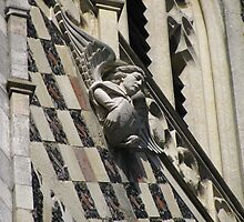 'Angel'  St Lawrence Church, Ipswich, Suffolk by wiggyofipswich
