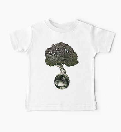 Nature Preserves all of Life Baby Tee