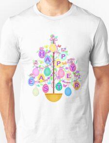 Easter Egg Tree T-Shirt Unisex T-Shirt