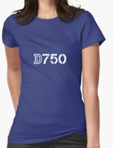 Nikon D750 Womens Fitted T-Shirt
