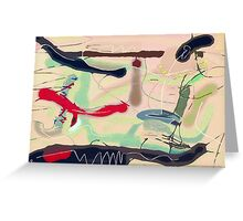 Jolly Scribbles Greeting Card