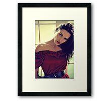 The Vixen Framed Print
