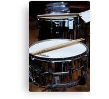 Snare Drums Canvas Print