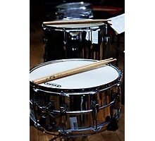 Snare Drums Photographic Print
