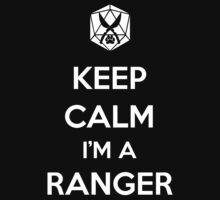 Keep Calm I'm a Ranger Kids Clothes