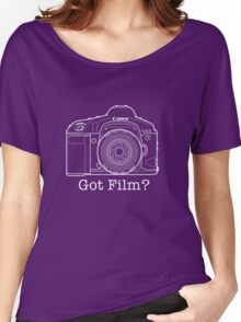 Canon EOS 1v 'Got Film?' T Shirt Women's Relaxed Fit T-Shirt