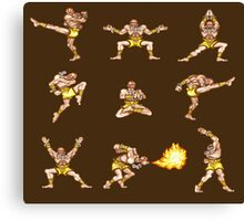 Dhalsim - Street Fighter II T-shirt Canvas Print