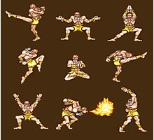 Dhalsim - Street Fighter II T-shirt Photographic Print
