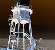 High and Low Lighthouses, Dovercourt by wiggyofipswich