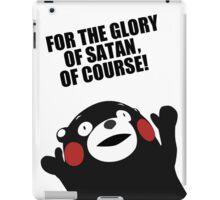 Satanic Kumamon  iPad Case/Skin
