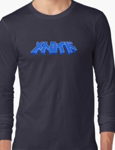 Famicom Metroid Title Long Sleeve T-Shirt