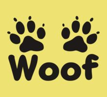 Woof Dog Paws by KimberlyMarie
