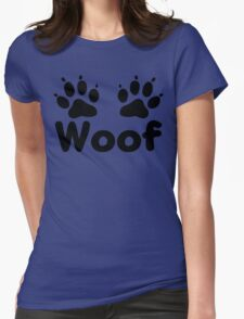 Woof Dog Paws T-Shirt