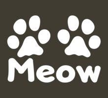 Cat Paw Meow (Dark) by KimberlyMarie