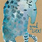 Good Luck Monster by benconservato