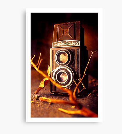 Grandpa's Camera... Canvas Print