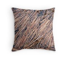 Floating stalk Throw Pillow