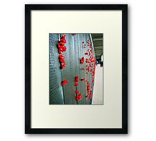Red Poppies. Framed Print