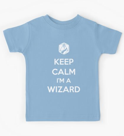 Keep Calm I'm a Wizard Kids Tee
