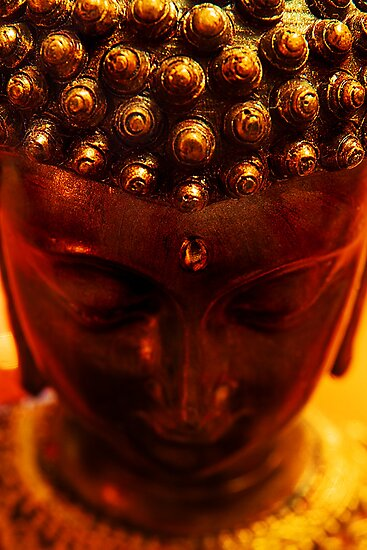 FIRE BUDDHA by SIMON KEEPING