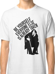 Oscar Wilde - Quote Series. Classic T-Shirt
