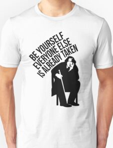 Oscar Wilde - Quote Series. T-Shirt