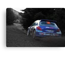 rally GB Wales  Canvas Print