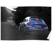 rally GB Wales  Poster