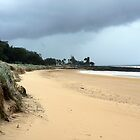 Stormy Bargara Beach by Graeme  Hyde