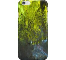 Into the green sea - JUSTART © iPhone Case/Skin