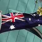 Australian Flag by Jenny Brice