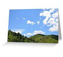 Blue Skies COLORADO Greeting Card