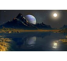 Worlds of the Blue Giant Photographic Print