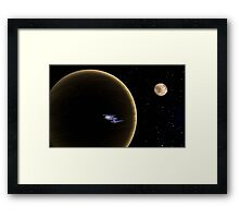 Beyond the Darkside Framed Print